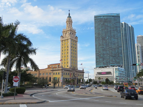 Freedom Tower in Miami Florida