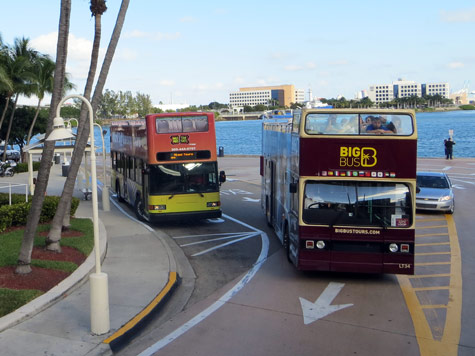 Hop-on Hop-off Bus in Miami Florida